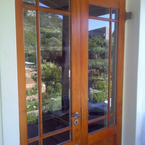 Clear Burglar Bars – Kommetjie, Cape Town – Marilyn