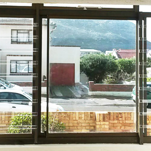 Clear Burglar Bars – Fish Hoek – Marion